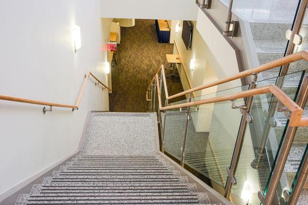 Master Terrazzo NIH terrazzo stairs