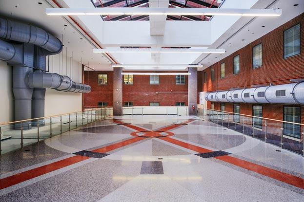 Master Terrazzo NIH Mark Hatfield Center terrazzo floor