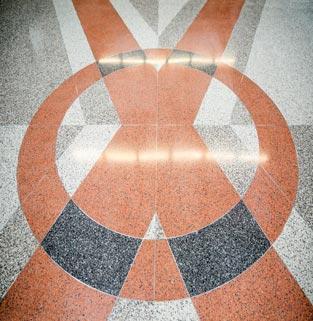 MasterTerrazzo NIH terrazzo floor detail